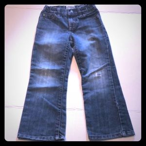 The children's place boys size 5 bootcut jeans